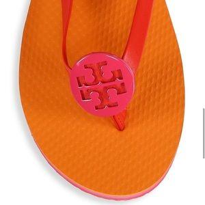 Tory Burch Minnie Flip Flops Bright Samba